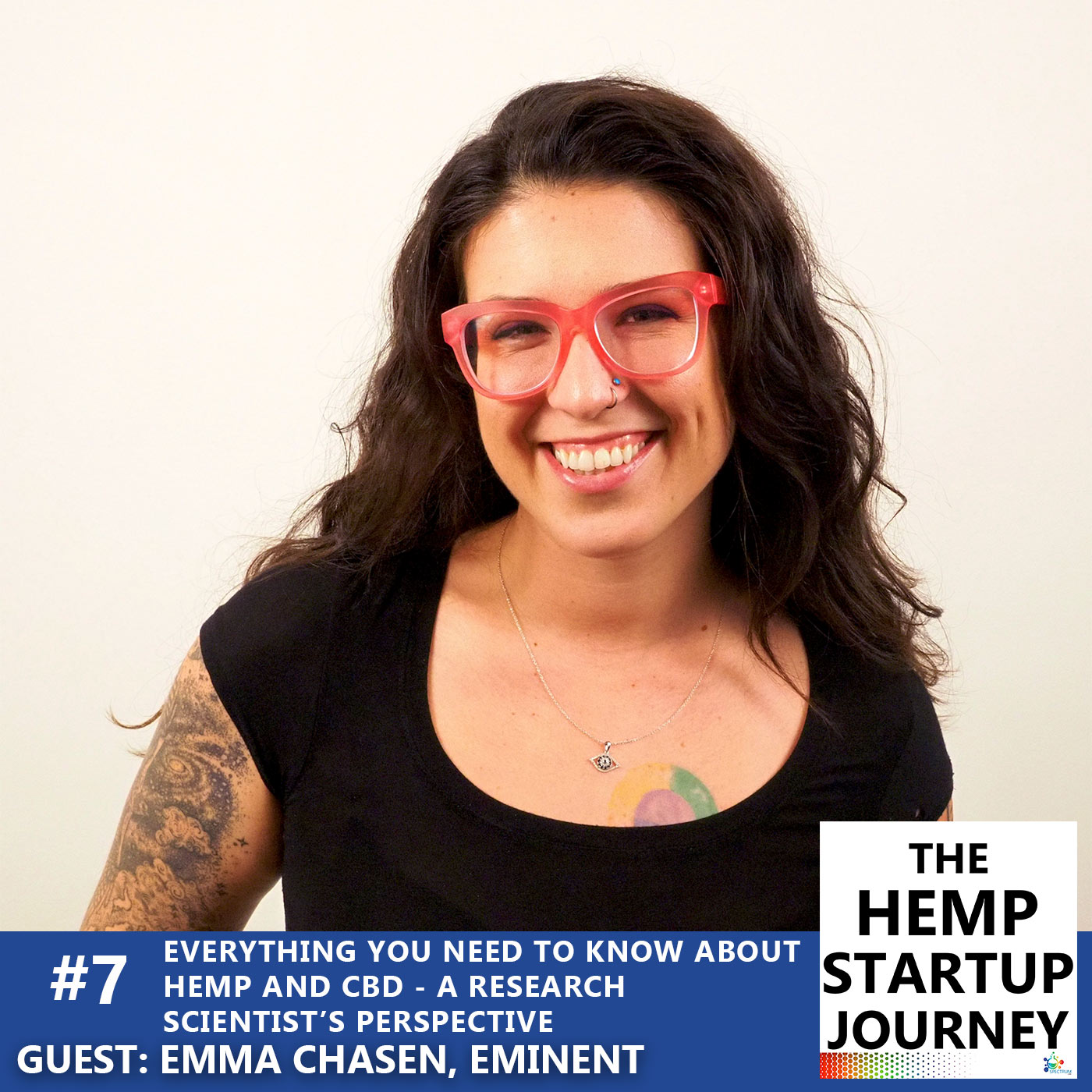 #7. Everything you need to know about hemp and CBD from a research scientist's perspective – with Emma Chasen (podcast)