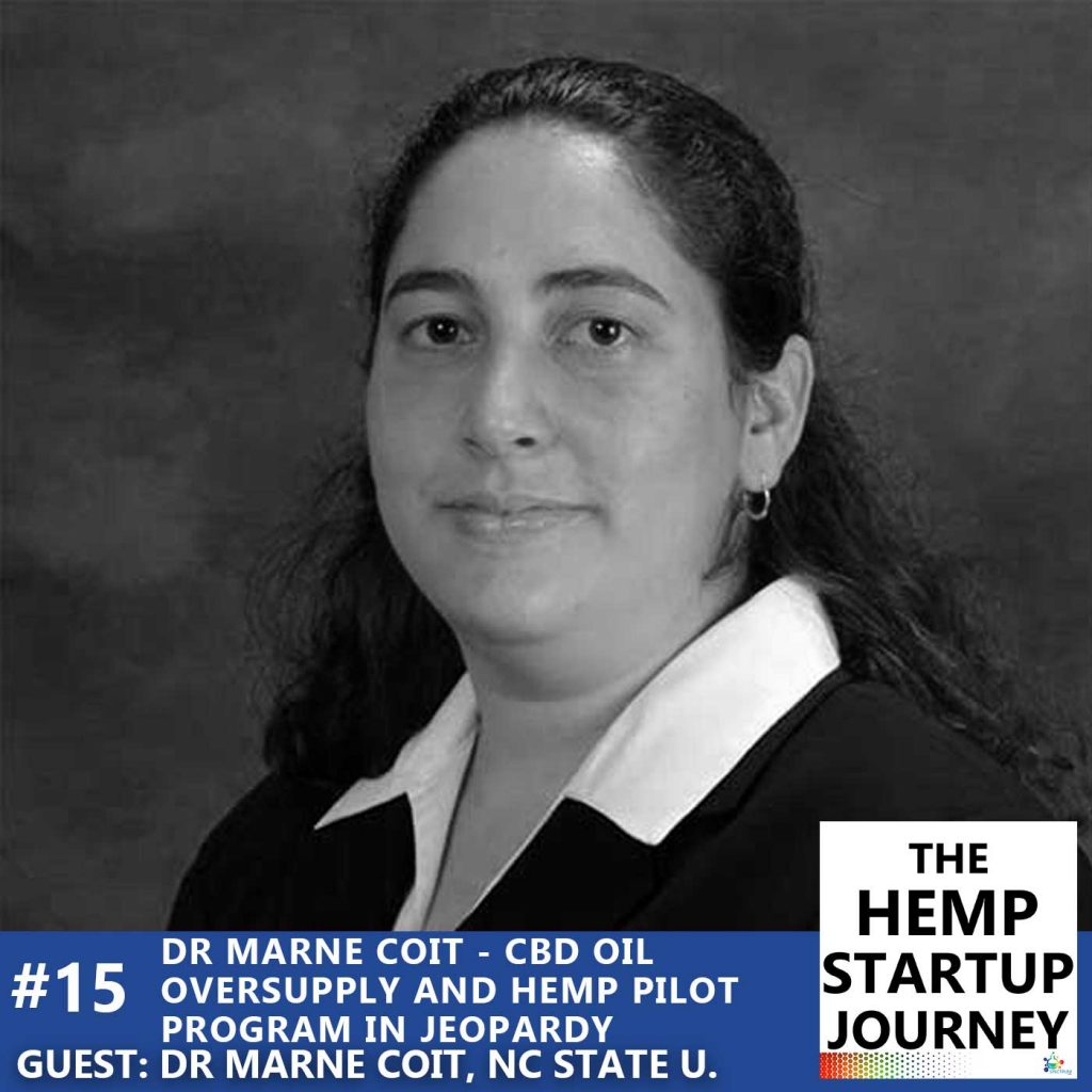 Dr Marne Coit guest on The Hemp Startup Journey Podcast
